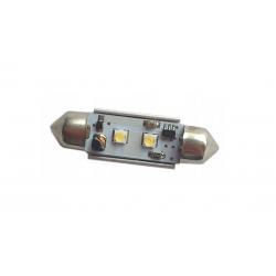 Żarówka rurkowa C5W 2 CREE CAN BUS LED BIAŁA 39mm