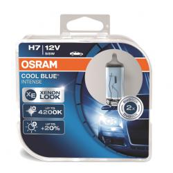 Żarówka H7 OSRAM COOL BLUE INTENSE 55W 12V 2 szt