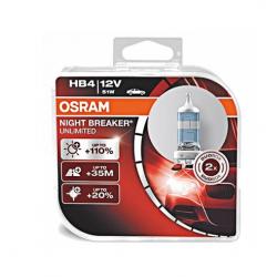 Żarówka HB4 OSRAM Night Breaker + 110% 51W 2 szt. 12V