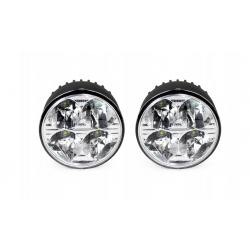 Światła dzienne okrągłe LED DRL NSSC 510HP