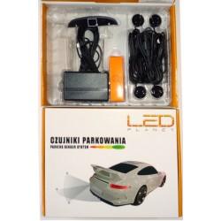 Czujniki parkowania LED PLANET model W czarne