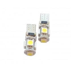 Żarówka T10 W5W 5 SMD CAN BUS LED 2 szt.