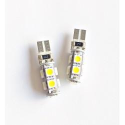 Żarówka T10 W5W 9 SMD CAN BUS LED 2 szt.