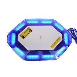 Lampa sygnalizacyjna mini belka LED Raptor Blue