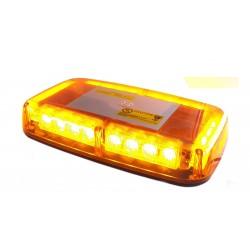 Lampa sygnalizacyjna mini belka LED E501 Amber pomarańczowa obudowa