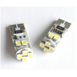 Żarówka T10 W5W 8 SMD CAN BUS LED 2 szt.