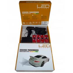 Czujniki parkowania LED PLANET jak oryginalne