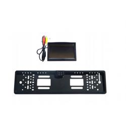 Zestaw kamera cofania ramka LED monitor 5''