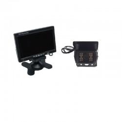 "Zestaw kamera cofania truck monitor 7"""