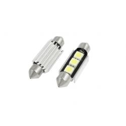Żarówka rurkowa C5W 3 SMD CAN BUS LED BIAŁA 36mm